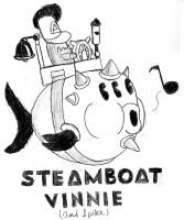 Steamboat Vinnie (And Spike) by Cyberguy64