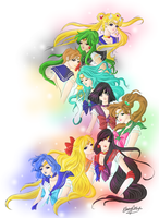 Sailor Moon ReVamped by Ebsie