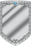 LA Mirror Shield by BLUEamnesiac