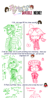 Double Meme with NIKU by Nami-Tsuki