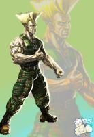 Guile by EyeOfVogler