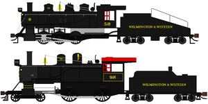 Wilmington and Western Engines by DanielArkansanEngine
