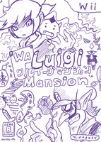 Waluigi mansion by doctorWalui