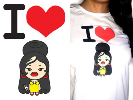 My Amy Winehouse T-Shirt by heglys