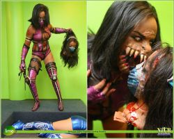 Mortal Kombat Mileena Cosplay by LyonegraCostuming