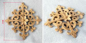 Ornament carved of wood by byMichaelX