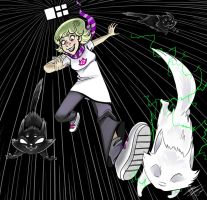 Homestuck Track Contest - Roxy Lalonde by ZaraLT