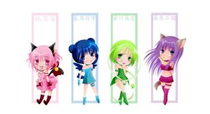 Tokyo Mew Mew by TimidWolf