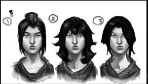 character hair variations by boneless-chain
