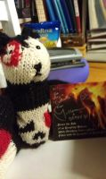 Knitted Deady Bear by ARovnyak