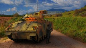 1988 M2A2 INFANTRY FIGHTING VEHICLE by melkorius