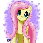 Fluttershy's Happiness by johnjoseco