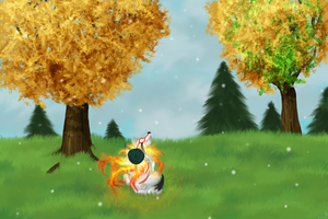 First Snow by SarurunKamui