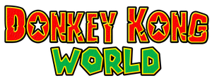 Donkey Kong World Logo by KingAsylus91