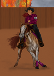 MPL Dutchess reining by Wild-Rose-Ranch
