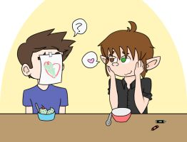 OTP Challenge- 13. Eating Ice Cream by drefeno