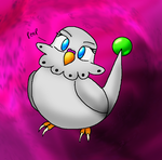dittokitty budgie by Dnightshade
