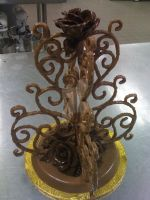 Chocolate Sculpture by LoveandConfections