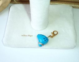 Zelda Ocarina of Time Sculpted Charm by TorresDesigns