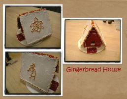 Gingerbread House by OliveDrop