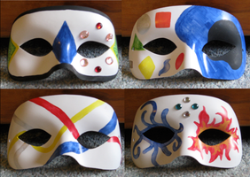 Masque Masks by Eorryn