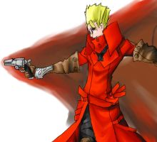 AT Vash the stampede by Girutea