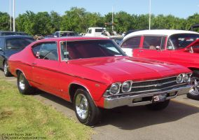 1969 Red Chevrolet Chevelle by Mister-Lou