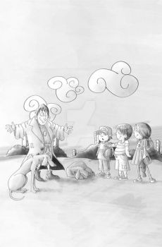 poor and the children BW by tanzoo