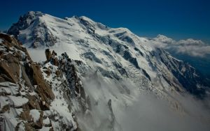 Mont Blanc Backdrop by themobius