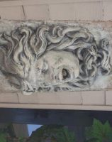 Stone medusa 01 by barefootliam-stock