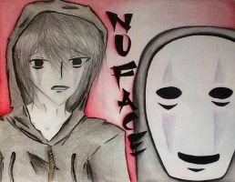 No face human by Psychotic-Bro