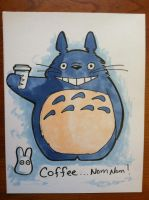 Totoro sketch by khallion