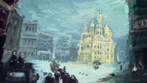 A Winter In Petrograd by conorsully
