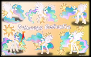 Princess Celestia by KyssS90