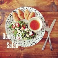 Quorn Salad by DistortedSmile