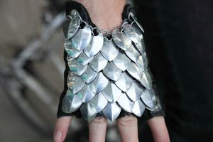 Scale Armored Gloves by MetalArtisan