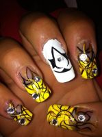 Assassins's Creed Nails by pierrettepaola