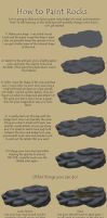 Rock Tutorial by BeyondFireComic