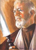 Old Ben Kenobi by gattadonna