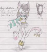 Adopted-Zekora the Dessert Rat by ShadowMew-Adoptables