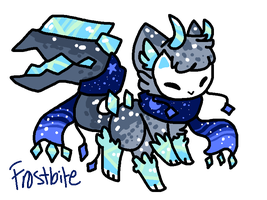 Frostbite Tranceling AUCTION closed by Celestial-Trance