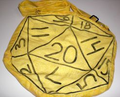D20 Bag - Yellow by 13anana