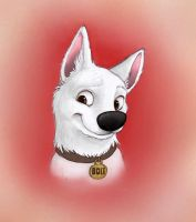 Bolt the Super Dog by gothic180