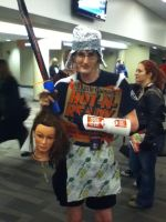 Ohayocon 2012: Trash Warrior by BigAl2k6