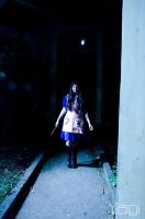 Walking in the night by YagiPhotography