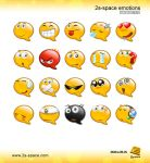2s-space Emoticons by 2s-space