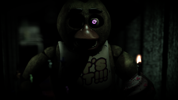 [SFM] Chica in the hallway by MaxieOfficial