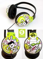 Adventure Headphones by Bobsmade