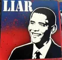 Liar Obama by punkdaddy74