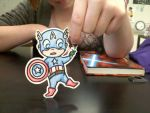 Captain America Paper Child 2 by leafeon-ex